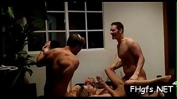 blowjob facial and german Three men lick same pussy putty