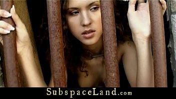 bondage forced slave Biggest peephole stretching