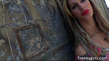 hot blonde bareback sex shemale Horny gabriella on hot masturbation
