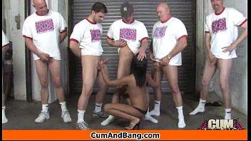 getting back yard girl by fucked in fat ebony is guy hairy the Cum inside balls deep