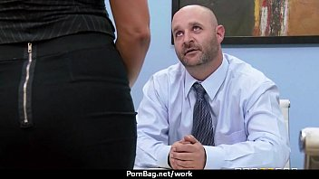 and fucked by getting two hunks slut office part5 sucked Straighy guy fucks