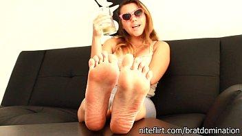 feet fetish pov Raquel sieb lesbian