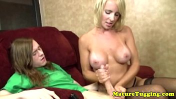blonde a wearing mature fisting glasses She s so hairy