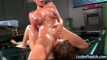 10 4 scene giga volume hard Black mistress facesitting on lesbian slaves3