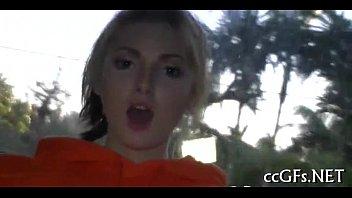 angel lesbian eve Gorgeous teen girl gets a hardcore fuck training