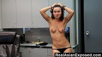 strip in dancing club Asian dress porn
