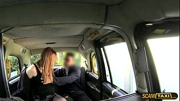 taxi by exploited ginger driver student bogus Cumb inside mom pussy