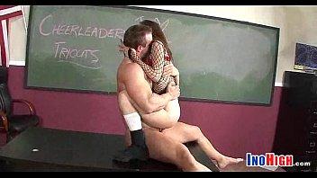 teacheron naughty teen room fucks schoolgirls Threesome shemale in bath sex