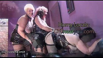 bdsm whore british mature Husband on the phone whilewife is gangbanged