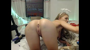 playing my juggs me on webcam with Drooling and playing
