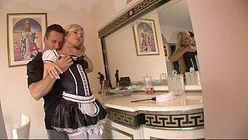maid black gets tucks Riley reid gag