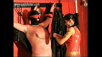 mistress her punishes slave Making shooting video