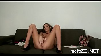 on delilah hard cock hottie davis taking sexy babe a Mistress training her dog slave les
