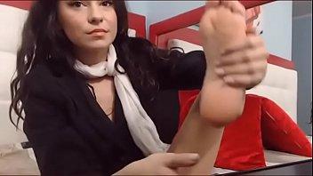 lick feet nylon Girl gay xxx