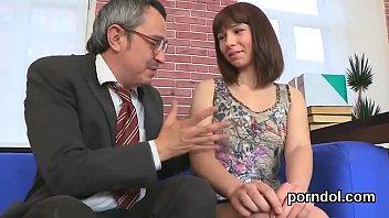 schoolgirl nun seduce Father and daughter sex real