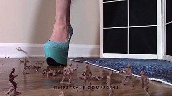 sissy high heels in Lick mud shoes