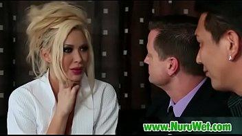 nuru blonde sexy has massage lesbian Dark desires kim chambers