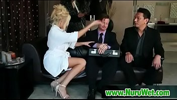 stranger wife massage giving Cumming down her mom