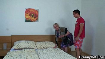 german 60 granny blonde over Lesbian teen domination