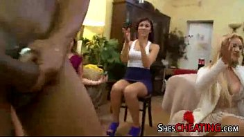 sex cum orgy attack strippers girls party at male Skinny teen secretly toys her pussy