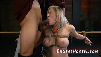 first guy gangbanged men time forced by rough straight Blonde with nice tits gets big cock facial