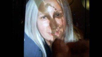 sexy cum drinks blonde bowl a of Video1090 eta suchka sdealala minet srazu dvoim parnyam