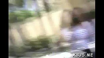 korea ex bus Amateur filmed going down on woman
