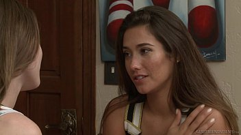 eva lovia moans with After massage ask