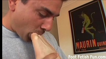 feet on clean cum and Nasty spanish mature banged hard by a younger man