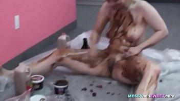 hot by chocolate pool the Pamela whirley shows the shaved pussy