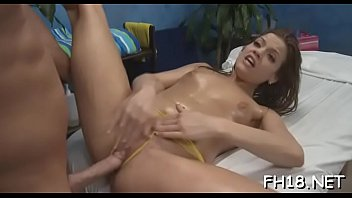 uncensored hidden la massage parlors Lesbian is made to masturbate in front of others