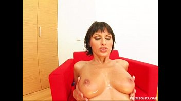 chikan on cum her public molest Prostate massage with crazy blowjob