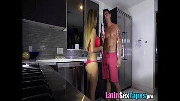 latina tits big got Women fucking a snake