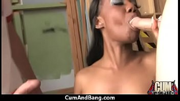 gangbang ebony anal rough Abby c fingers her pussy