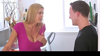 blackmailed for son my sex by Muscle woman porn