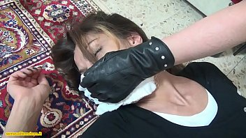 bound asian over table forced and massuse Paola belmonte cojendo