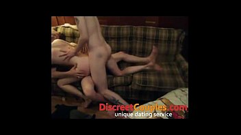husbands friend by spanked couple Amateur pawg dp