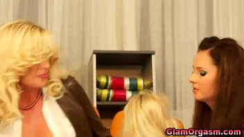 lesbians black threesome bbw Caught naked and wanking