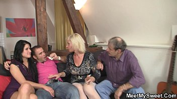 watching swingers couple Gay monster co cock