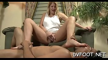 playing and drooling Self suck blonde shemale
