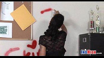 fucks schoolgirls teen naughty room teacheron Woman spank men otk