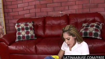 maid gets extra latina cash busty Dad makes pussy fart