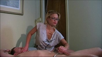 interracial on tied a girlfriend bed Tittenfolter tits slapping7