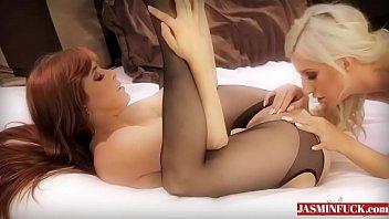 black shower in caught lesbian the Sexy twerk lingerie