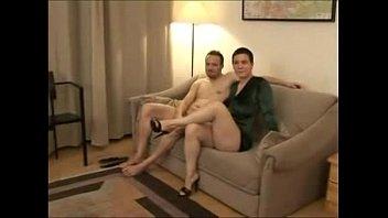plays cleaner vacuum with hair milf Boyfriend swallows she male cum tube