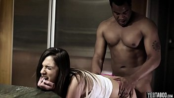 coed interracial submissive Natural big tits gangbanged