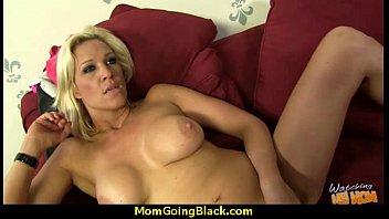 seduces mature loving young guy Brunette hotwife on animal skin rug iii