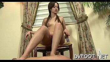 lick feet nylon Ana maria mocanu