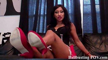 ball instruction bust Desi boob voyeur india