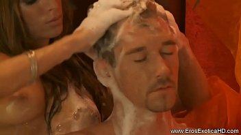 married japanese massage blonde Big natural tits triple